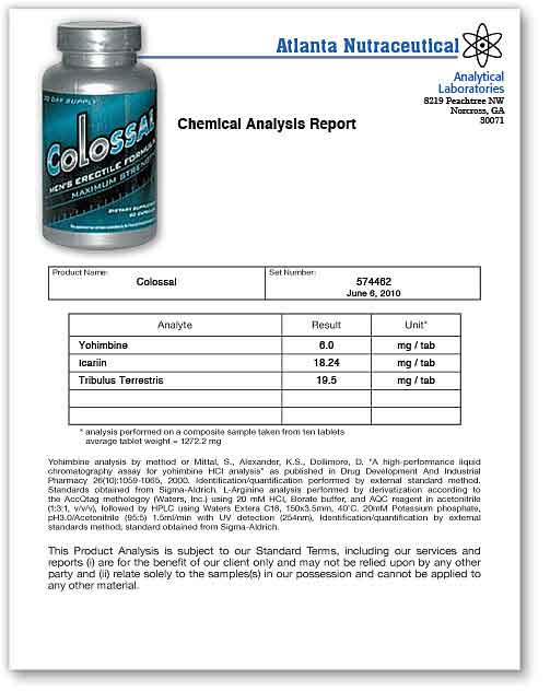 Colossal Lab Report